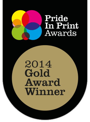 Pride in Print Gold